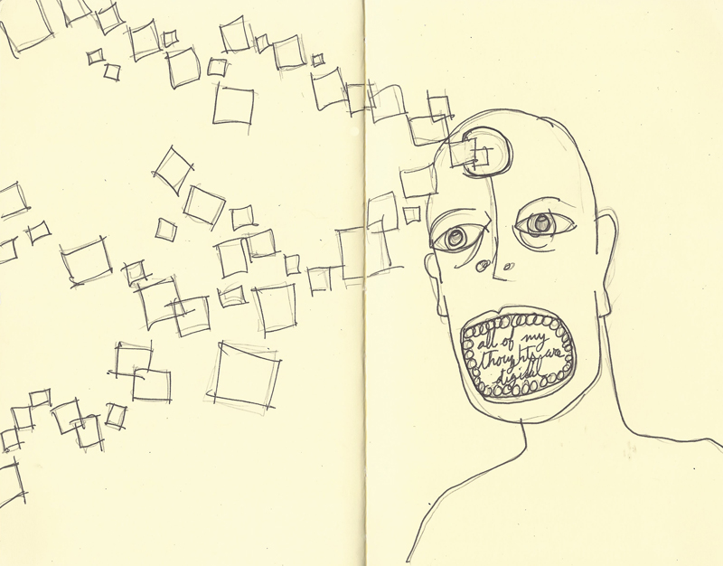 all of my thoughts are digital