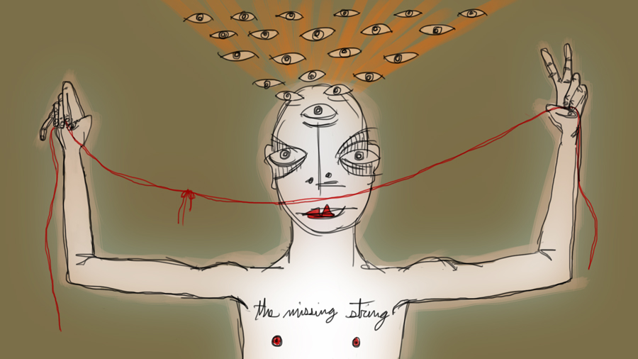 the missing string