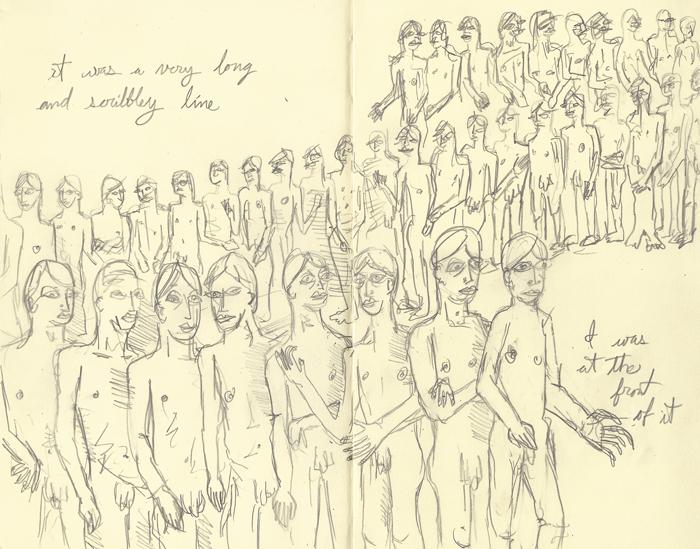 scribbley line
