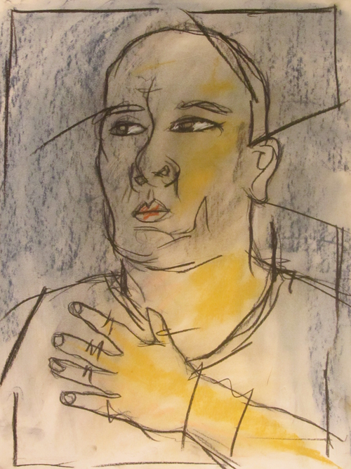 untitled drawing of richard 002