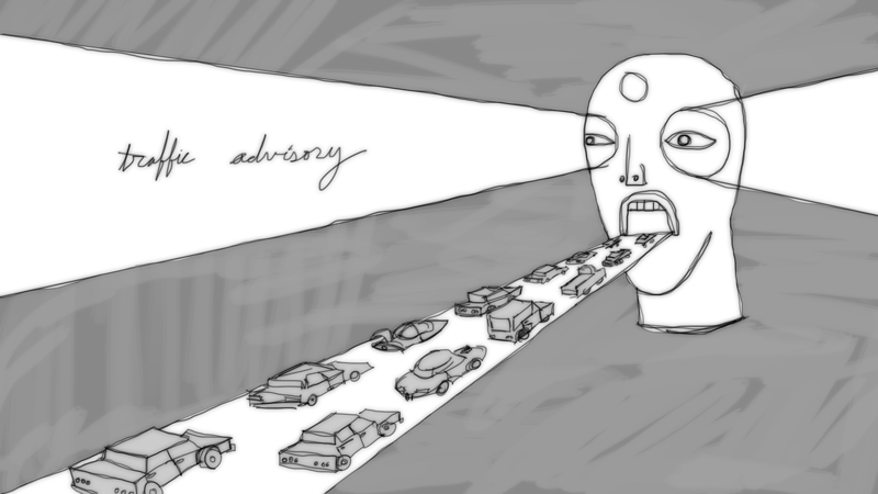 traffic advisory