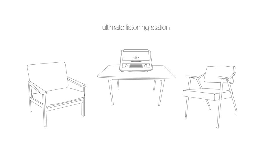 ultimate listening station