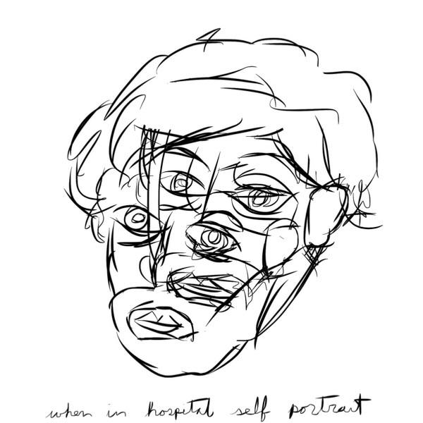when in hospital self portrait