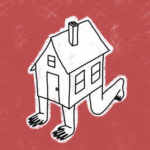 crawling house