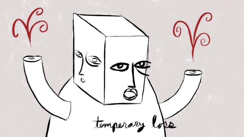 temperery loss