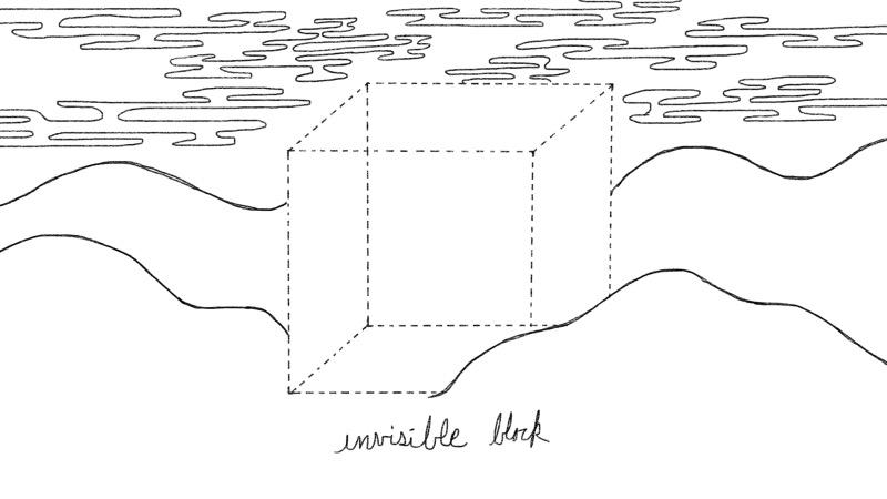 invisible block