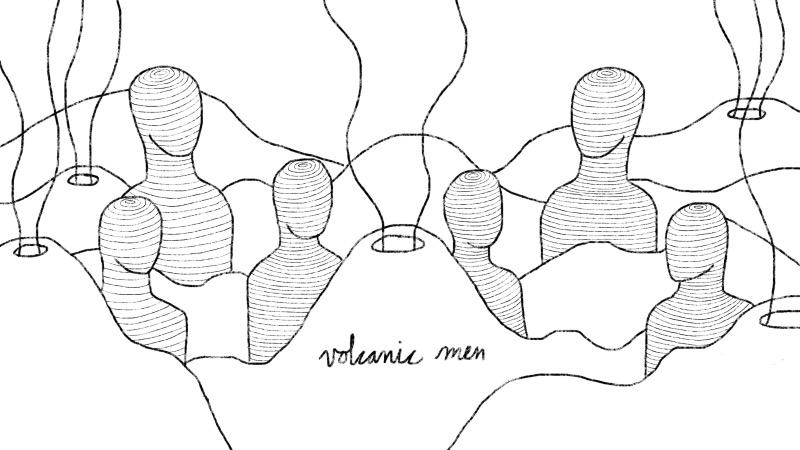 volcanic men