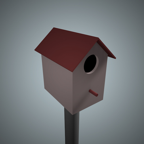 obsessed with this birdhouse thing