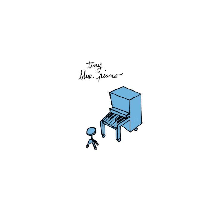 tiny blue piano