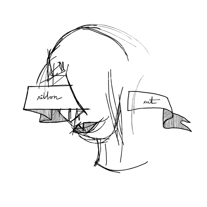 ribbon cut