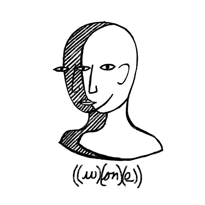 ((w)(on)(e))