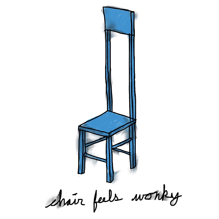 chair feels wonky