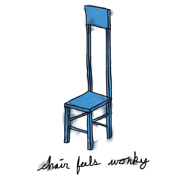 chair feels wonky