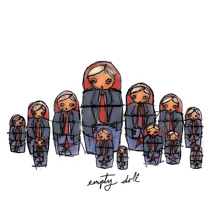 empty doll
