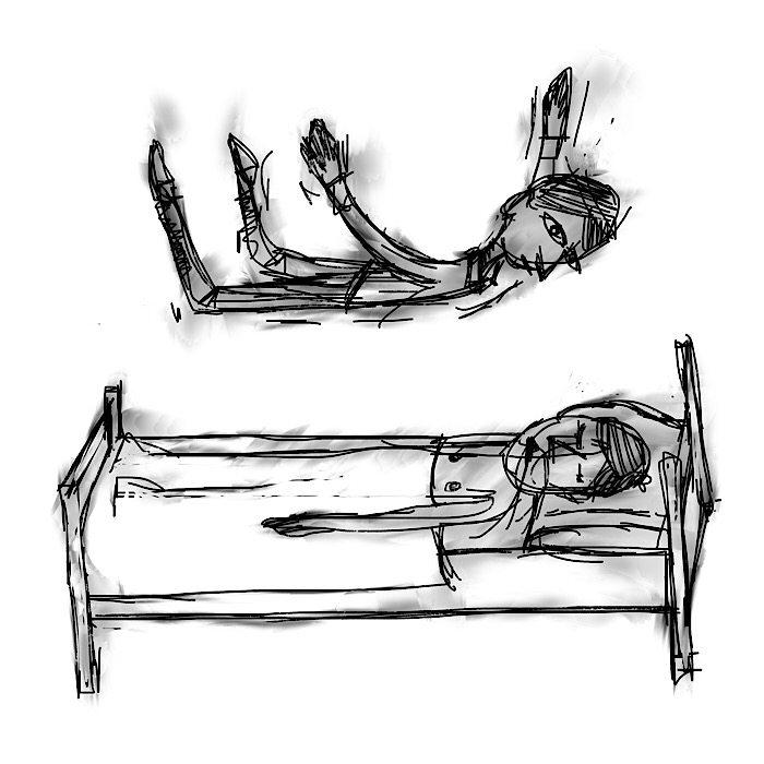 out of body experience in a body