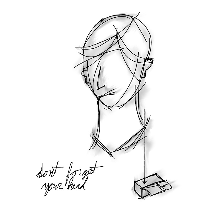 don't forget your head