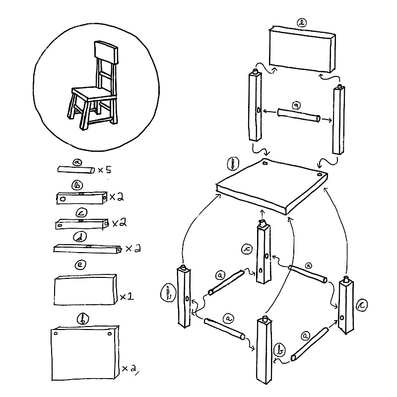 chair instructions