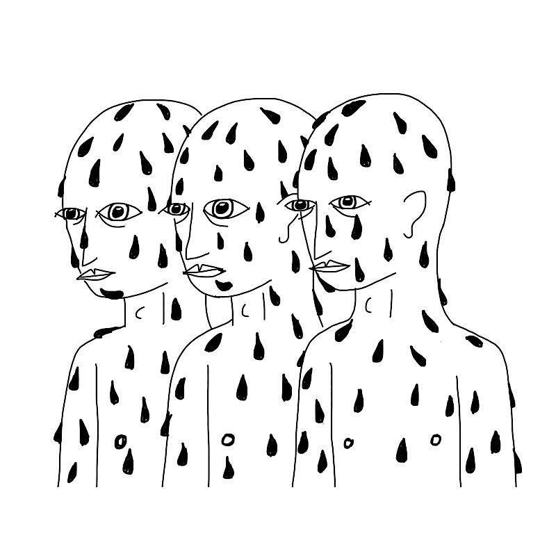 three wet guys