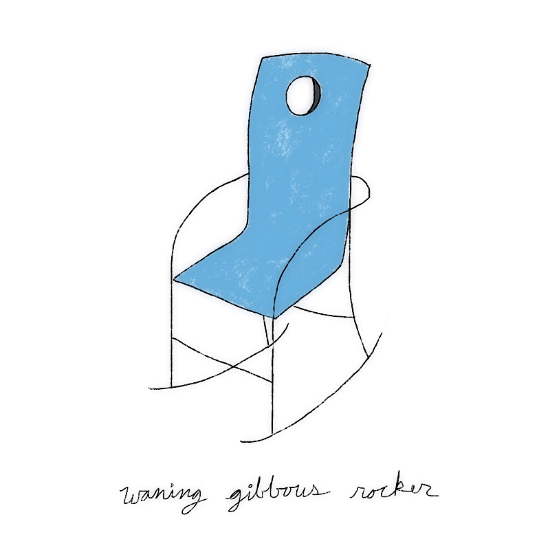 waning gibbous rocker
