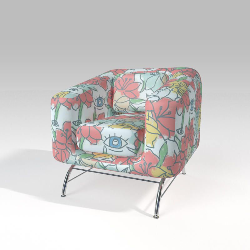 when in doubt, design a living room chair