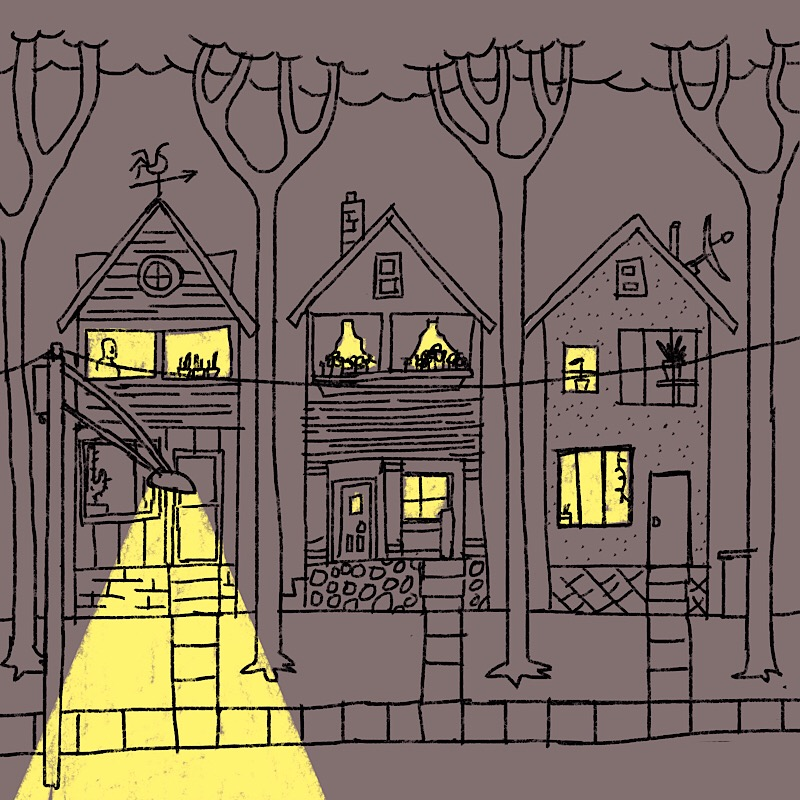 good night street