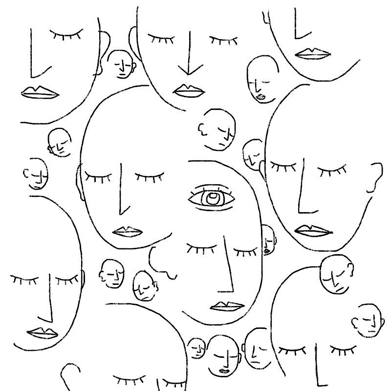 shared inward eye