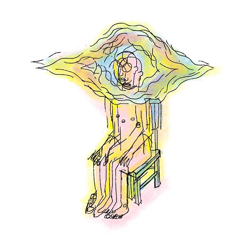 sitting again